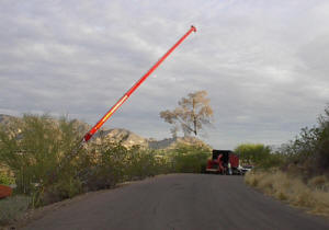 Crane Safely Removing a Tree in Paradise Valley Picture 4